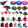 Mens Womens Bucket Boonie Hat Fishing Sun UV Protection Outdoor Summer Beach Cap