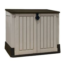 Pre-Built Keter Store-it-Out Midi Outdoor Garden Storage Shed 845L *Cracked #5