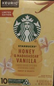 Limited edition Starbucks Honey and Madagascar vanilla K-pods (10)