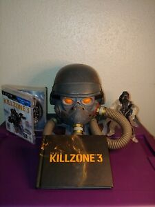 PS3 Killzone 3 helghast edition GAME and MANUAL included.