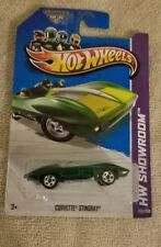 2014 Hot Wheels Corvette Stingray green