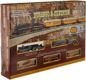 Bachmann Durango and Silverton - N Scale Ready to Run Electric Train Set Designe