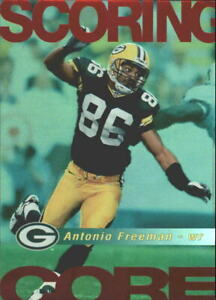1999 Score Scoring Core Green Bay Packers Football Card #1 Antonio Freeman