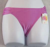 Hula Honey New Junior's Side-Tab Hipster Swim Bikini Bottom