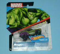 Hot Wheels Marvel Character Cars Hulk BRAND NEW