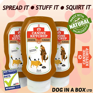 Dog Cheese Peanut Butter Ketchup Paste Dog Treat Chew (Stuffing KONG Toys etc)