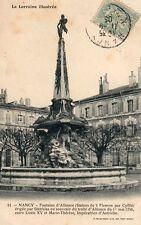 Nancy - Fontaine d'Alliance (Statue des 3 Fleuves par Cyfflé)