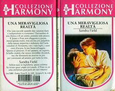 """HARMONY Collezione  """" UNA MERAVIGLIOSA REALTA' """"  di Sandra Field  N°1213/1996"""