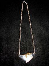 Collier Kette Silber 925 mit Gold  ca. 44cm