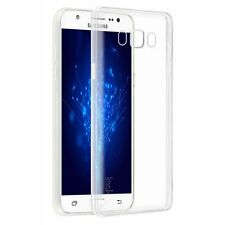 For Samsung GALAXY J7 Hybrid TPU Rubber Silicone Gel Clear Case Phone Cover