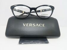 9990a22d6b5 Versace Women s Black Glasses with Case MOD 3219-Q GB1 52mm
