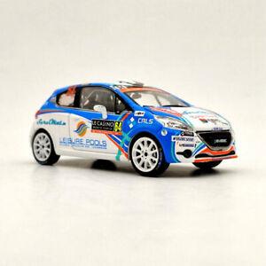 IXO 1:43 PEUGEOT 208 R2 #64 Rallye Monte Carlo 2018 RAM560 Models Limited Gifts