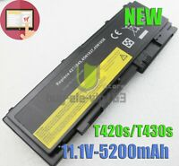 New Battery for Lenovo ThinkPad T420s T420si 0A36287 42T4845 42T4847 81+ 66+