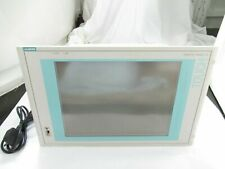 "Siemens Simatic Pc-670 15"" Tft Touch Operator Control Panel Display Monitor Uk"