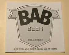 100 BEER LABELS - Need Some For Your BAD-ASS BEER Home Brewers? NEVER USED - NEW