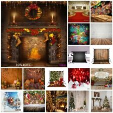 Abstract Autumn Christmas Vinyl Photography Studio Props Backdrop Background