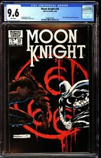 Moon Knight 30 CGC 9.6 White Werewolf by Night Cover Sienkiewicz Cover