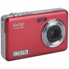 Vivitar ViviCam T027 12.0MP Digital Camera RED
