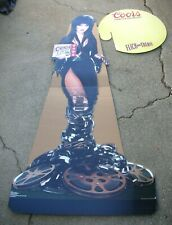 Elvira Coors Light Stand Up Standee Display Life Size New Unused 1994