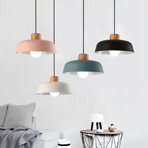 Modern Kitchen Pendant Lights Bar Chandelier Lighting Wood Bar Ceiling Lights