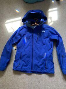 THE NORTH FACE LADIES SKI JACKET PURPLE BLUE COAT GORETEX performance shell