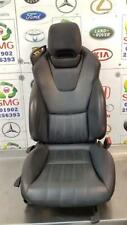 MERCEDES SLK200 AMG SPORT CONVERTIBLE R172 RIGHT DRIVERS SEAT BLACK LEATHER