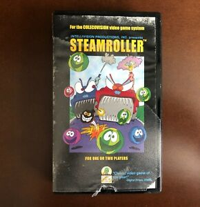 Steamroller for Colecovision from Intellivision Productions CIB