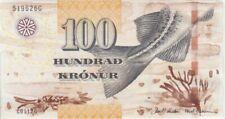 Faeroe Islands banknote P30 100 Krónur (20) 11, UNC,  WE COMBINE