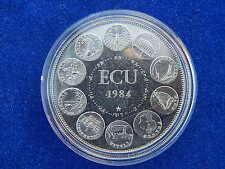 """TRESOR DU PATRIMOINE"" - MEDAILLE / Medal - EUROPE / Europa - ECU 1984 (BU)"