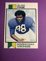 1973 Topps Set Break # 30 Alan Page Vikings Combined Shipping