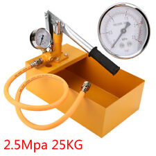 1 Set 25KG Manual Hydraulic Water Pressure Test Pipeline Tester Pump Machine Kit
