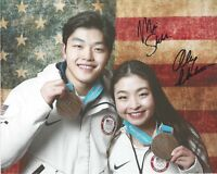 Alex & Maia Shibutani USA Figure Skating Signed 8 x 10 Photo  FREE SHIPPING