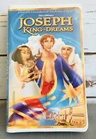 JOSEPH KING OF DREAMS VHS Video Home Tape in Clamshell Case Free Ship