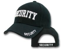 Security Cap - HI VIS - Black with Vents - 2021