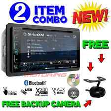 "SOUNDSTREAM DOUBLE DIN VR-65XB DVD/CD MP3 PLAYER 6.2"" LCD BLUETOOTH USB SIRIUSXM"