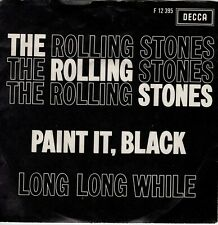 7inch THE ROLLING STONES	paint it black 	HOLLAND 1966 EX  (S2635)
