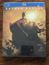 New listing Batman Begins(2005) Steelbook blu ray *Factory Sealed*