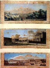 3 ENGRAVINGS OF BARCELONA. VOYAGE PITTORESQUE (...) ESPAGNE. DIDEROT.FRANCE.1806