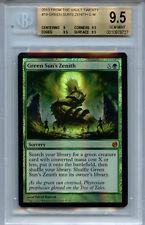 MTG Green Sun's Zenith BGS 9.5 FTV Twenty Magic Mystic Foil  Amricons 8727
