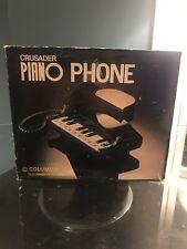 Telephone Piano  Crusader Piano Phone Columbia Telecommunications Inc New! Works