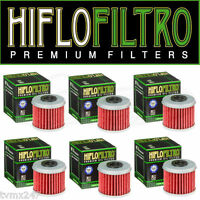 HONDA CRF 450 CRF450 HIFLO OIL FILTER 6 FILTERS IN PACK TO FIT 2002 TO 2016