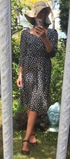 Donald Campbell 1980s  Size 12 Flower Print Tea Dress