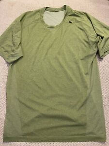 Mens Lululemon Shirt Green Medium M