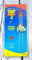 RARE Disney Pixar's Toy Story 2 Digital Fashion Watch Woody & Buzz Lightyear