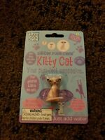 Grow Your Own Kitty Cat Toy Can Grows 600% It's Size In Water