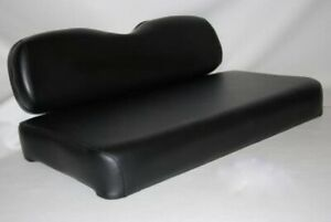 Black Ezgo Seat Covers For 1995-2013 Golf Carts Staple On Black Marine Vinyl