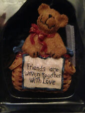 "Boyds Basketbearies ""Weaver - Friends are Woven Together"" Figurine - New in Box"