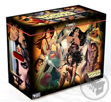 Large Comic Book Hard Box Chest MDF Wonder Woman