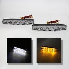 Luci Diurne A LED DRL E4 + Freccia frecce Universale Auto Furgone Suv