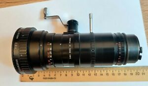 Lens Angenieux 12-120mm f/1:2.2 10x12 Zoom Lens mount CAMEFLEX Made in France